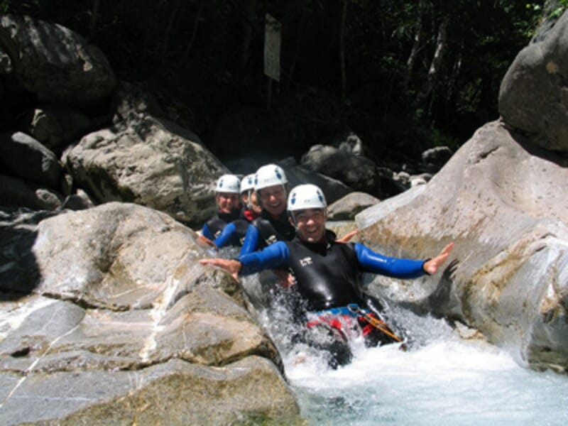 Canyoning à Serre Chevalier